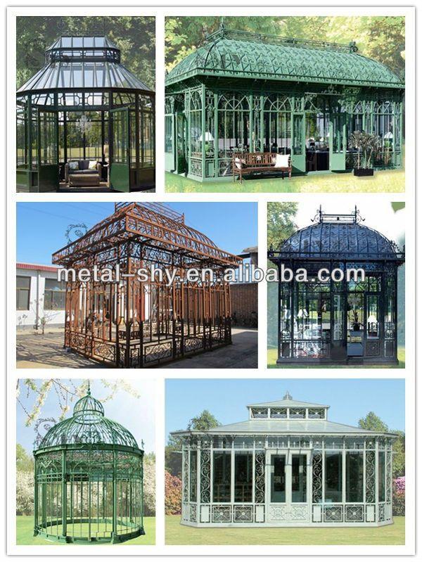 2014 Decorative Steel Pole Gazebo ,Steel Gazebos for Sale