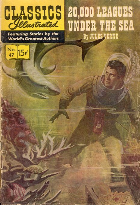 Illustrated Book Cover Art ~ Best sharks n comics images on pinterest comic book