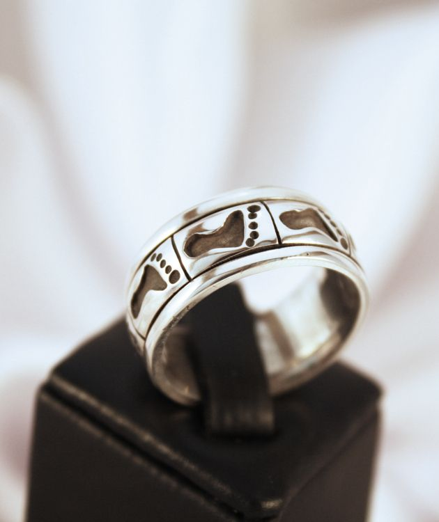 Sterling Silver foor Ring | Made in New Zealand