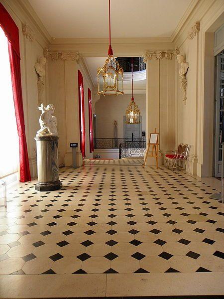 84 migliori immagini black and white floors su pinterest for Piani di casa in stile chateau francese