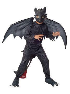 Halloween Maskeradkläder - Draktränaren Tandlöse Maskeraddräkt Barn, .