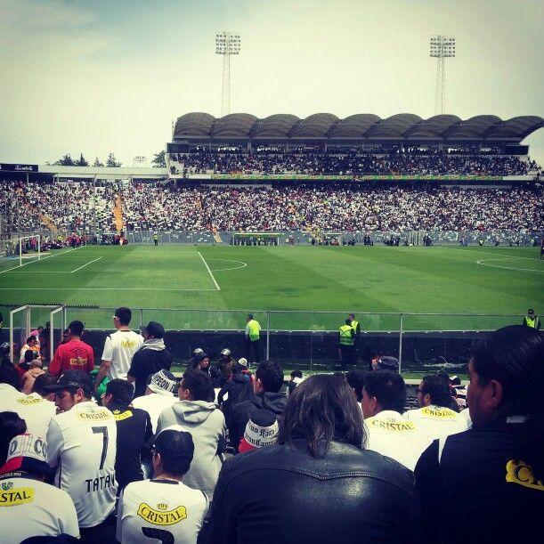 Estadio monumental // Colo colo 3 hijas 2