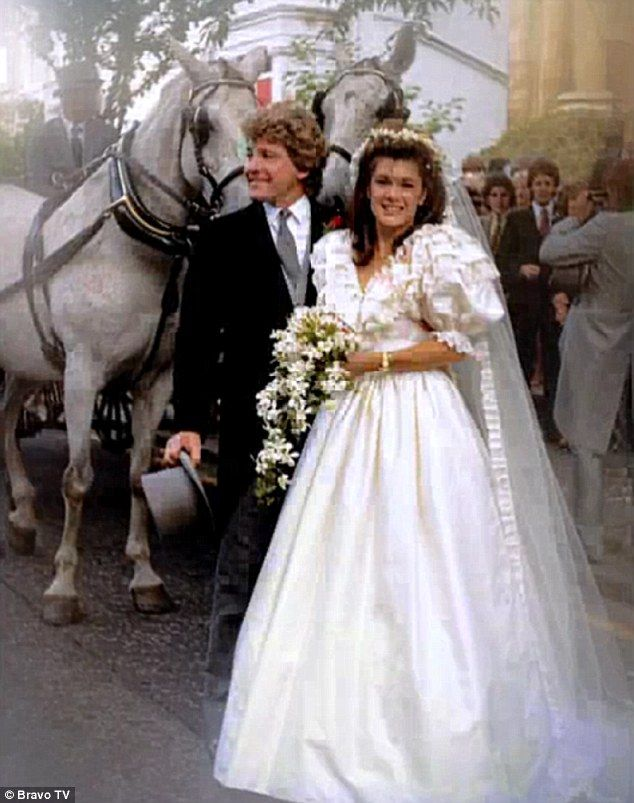 Lisa Vanderpump and Ken Todd on their wedding day in 1982.  She was 21 and he was 37 and had known each other for just 6-weeks.  He owned his first bar at the time.  They eventually owned 26 restaurants, bars and clubs in London and Los Angeles. She is known for her appearances on Bravo's The Real Housewives of Beverly Hills, Vanderpump Rules, and ABC's Dancing with the Stars.