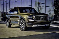 2016 Detroit Motor Show – KIA Telluride SUV Concept