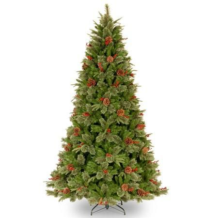 "National Tree Co. 6' 6"" Feel-Real Cleveland Artificial Christmas Tree"