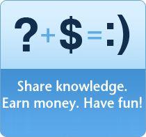 Make Money Online Part II: WebAnswers