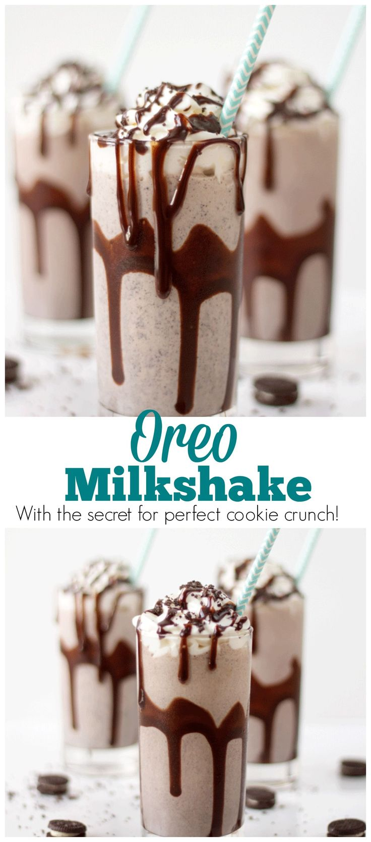 There is no need to get in your car and drive to an ice cream shop to get an Oreo milkshake with this great recipe you can make at home.