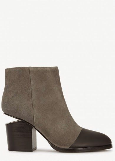 City chic Lifestyle: Alexander Wang grey suede boots sale at Harvey Nichols http://citychiclifestyle.blogspot.co.uk