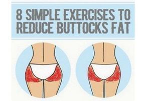8 Simple Exercises to Reduce Buttocks Fat – #buttocks #Exercises #fat #Reduce #S…