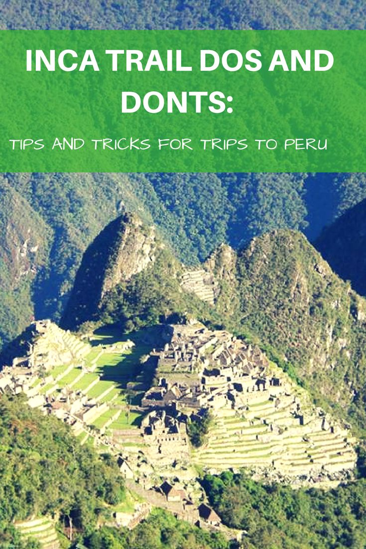 There is no better, more adventurous way to fully experience the ancient Inca culture of Peru other than doing the official Inca trail.