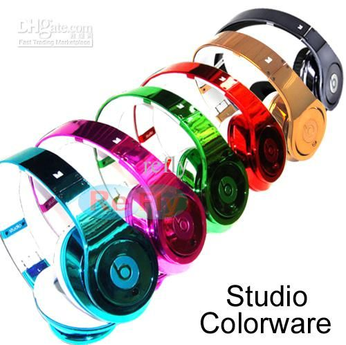 Wholesale Beats Headphone - Buy Factory Sealed Monster Colorware Chrome Custom Studio Dr.Dre Beats Headphone EMS, $85.64 | DHgate