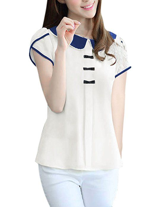 www.amazon.com Allegra-Collar-Pullover-Button-Blouse dp B00PDM3D86 ref=sr_1_4?ie=UTF8&qid=1429319470&sr=8-4&keywords=woman%27s+peter+pan+collar+blouse