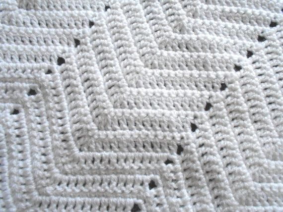 Handmade ZigZag Stitch Baby Crochet Cot by Kellys2babywithlove, ?30 ...