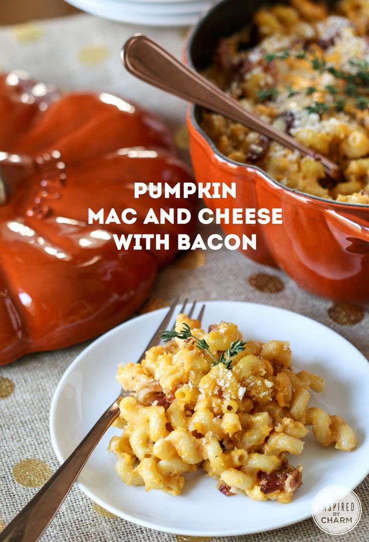 ...   Pumpkin Mac And Cheese, Macaroni And Cheese and Pasta Dishes