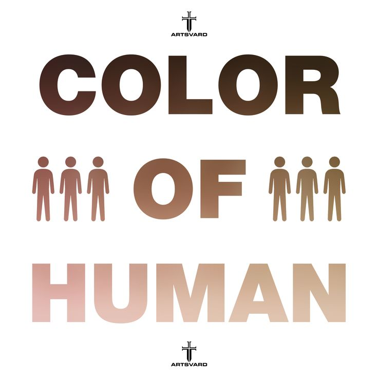 Color of human