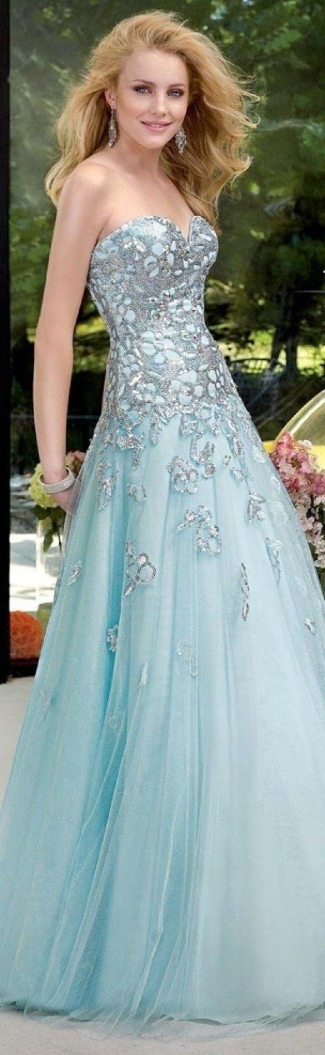 434 best wedding dresses images on Pinterest | Homecoming dresses ...