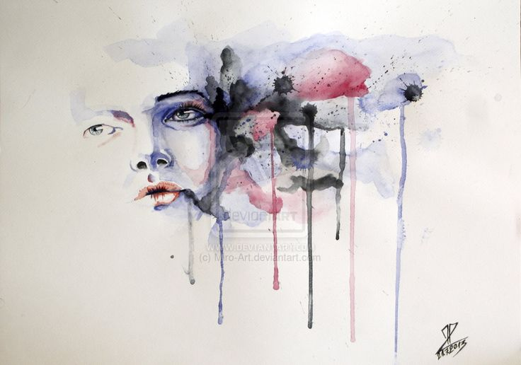 Title: In Mind Media: Watercolor