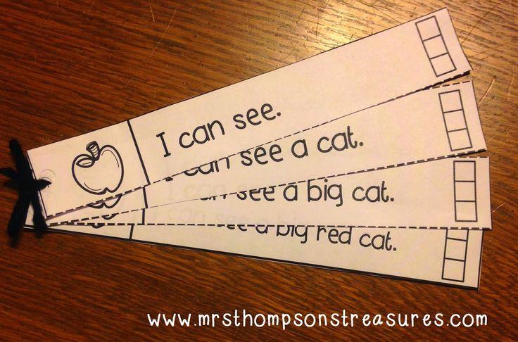 Fluency Strips - building fluency in young readers!