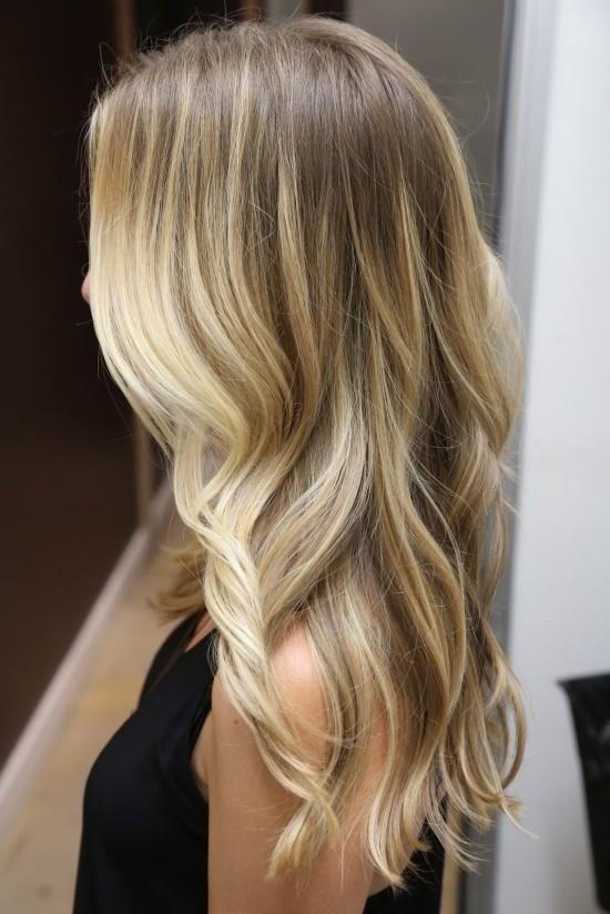 Ash Blonde with Platinum Blonde Balayage Hair