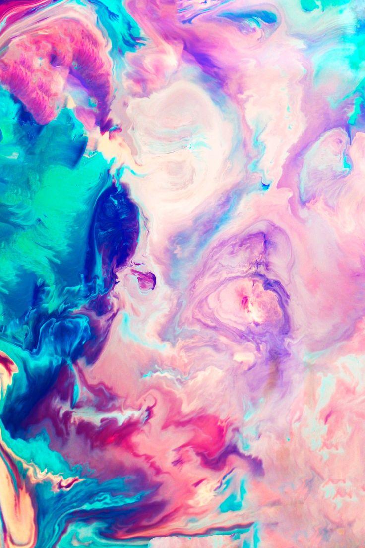 Tumblr iphone wallpaper purple - Blush Art Print By Kimsey Price