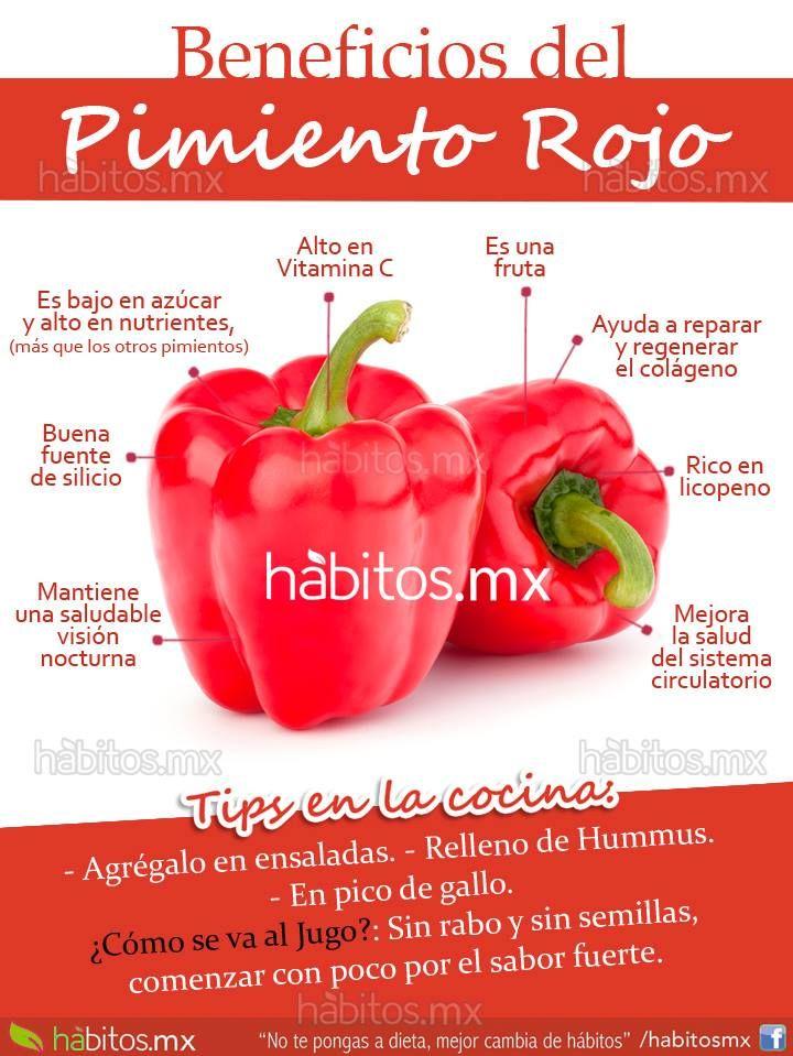 Hábitos Health Coaching | BENEFICIOS DEL PIMIENTO ROJO
