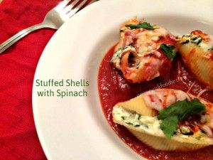 Stuffed Shells with Spinach - A New York Foodie  A definite comfort food!