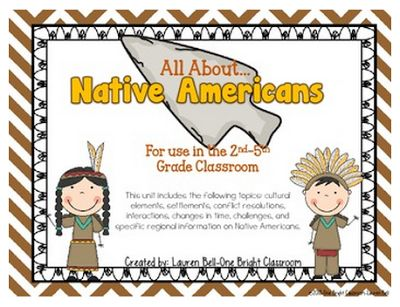 our class has had a TON of fun learning about Native Americans and how they used natural resources to survive and live off of the land! 'Ti...