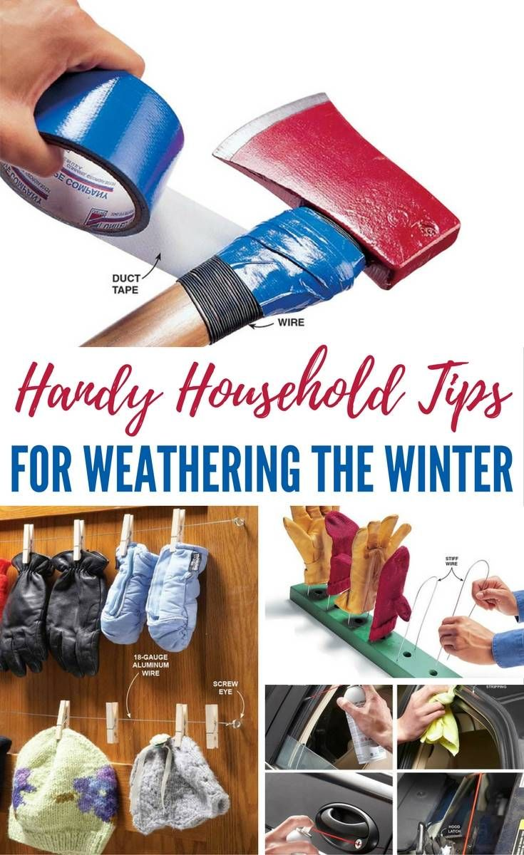 Winter Preparedness: Handy Household Tips for Weathering the Winter - Winter weather might be a drag, but with the proper preparation, weathering the winter is much more feasible. Keep your car running, your home warm, and your winter gear in proper working order and you'll make it through until spring. Images by familyhandyman