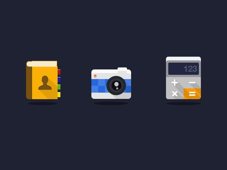 Flat Icons by Iftikhar Shaikh