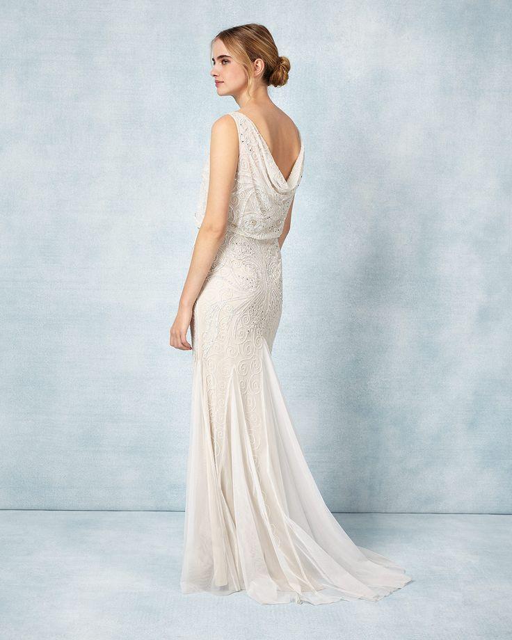 104 best Wedding Dresses images on Pinterest | Wedding frocks ...