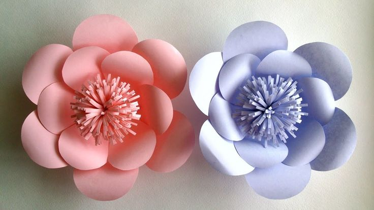 In this video tutorial you will see how to make a flower out of paper. Many of these colors from paper to decorate your room for a holiday wedding. This is a very simple tutorial flowers from paper. Subscribe to a video channel on YouTube: .... Tutorial, Flower, How, Paper, Make,...