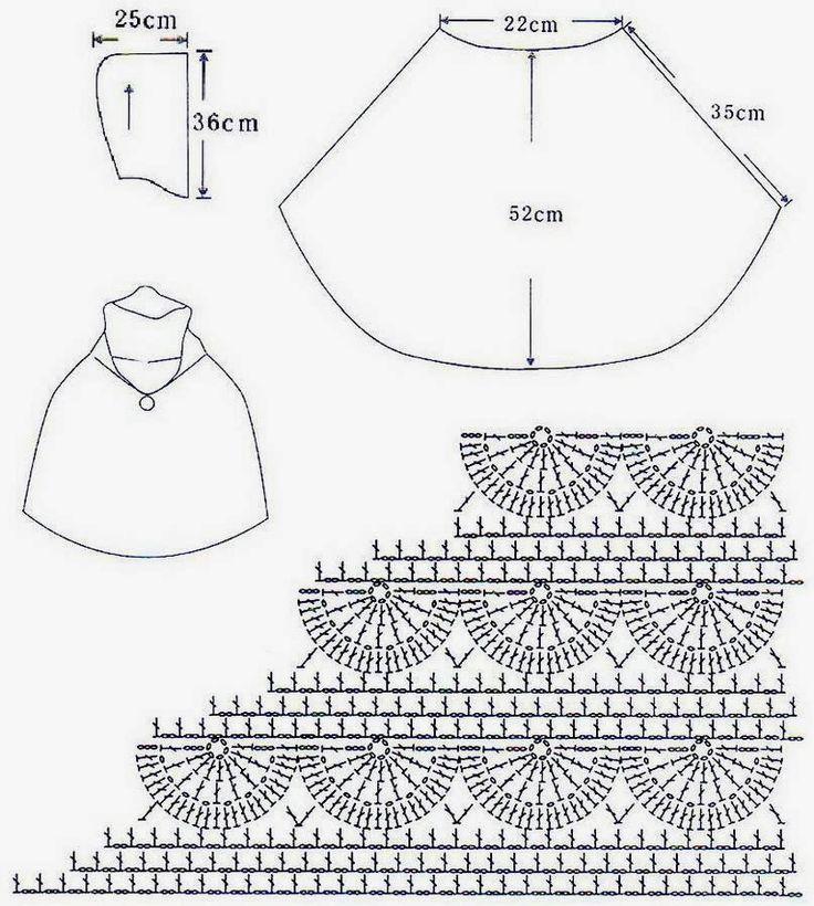 Contemporáneo Crochet Patrón De La Capucha Suéter De Cuello ...