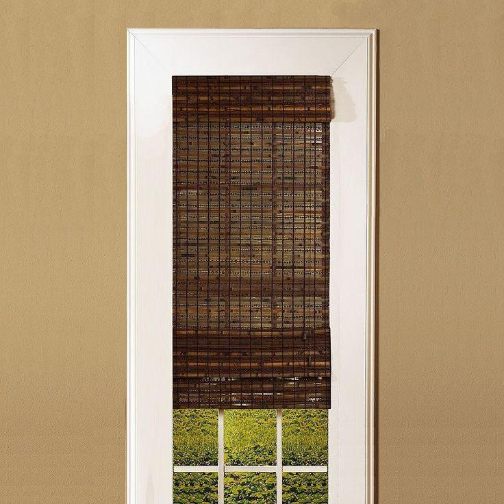 1000 Ideas About Bamboo Roman Shades On Pinterest