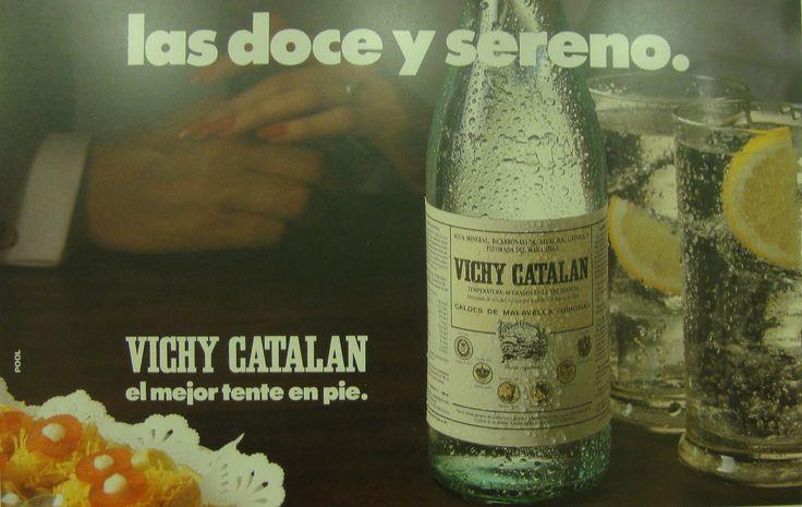 https://flic.kr/p/DMV6tB | 1986 Anunci Vichy Catalán Las doce y sereno - Tiempo