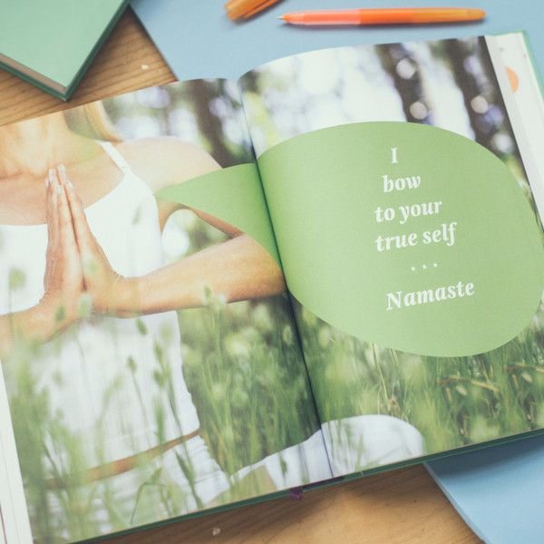 """Dailygreatness Yoga Journal (Limited """"Bloom"""" Edition)"""