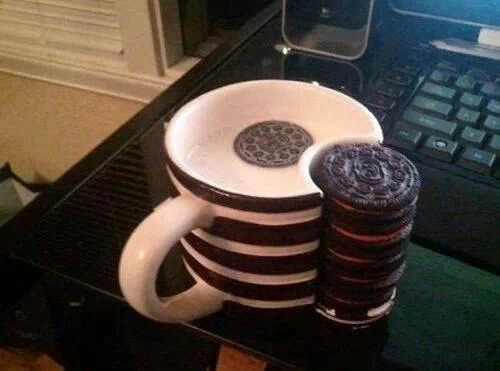 Oreo cup! My life would be sorted @Birdy