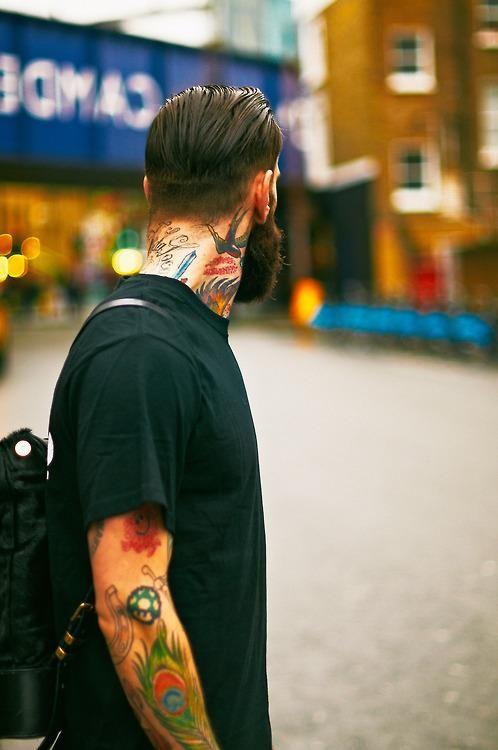 Ricki Hall #beard #tattoos