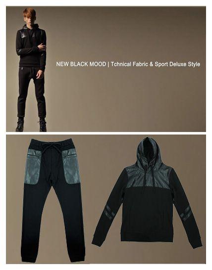 #newbalckmood Jogg pants + Hoddy