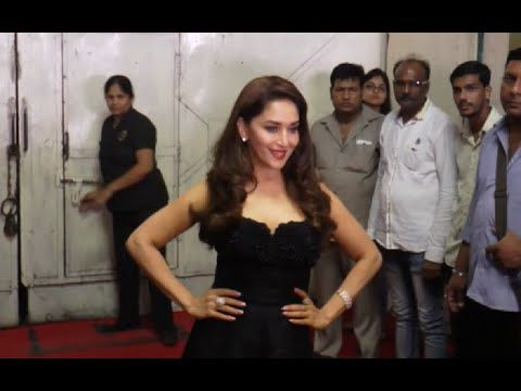 Madhuri Dixit looks STUNNING in black gown.