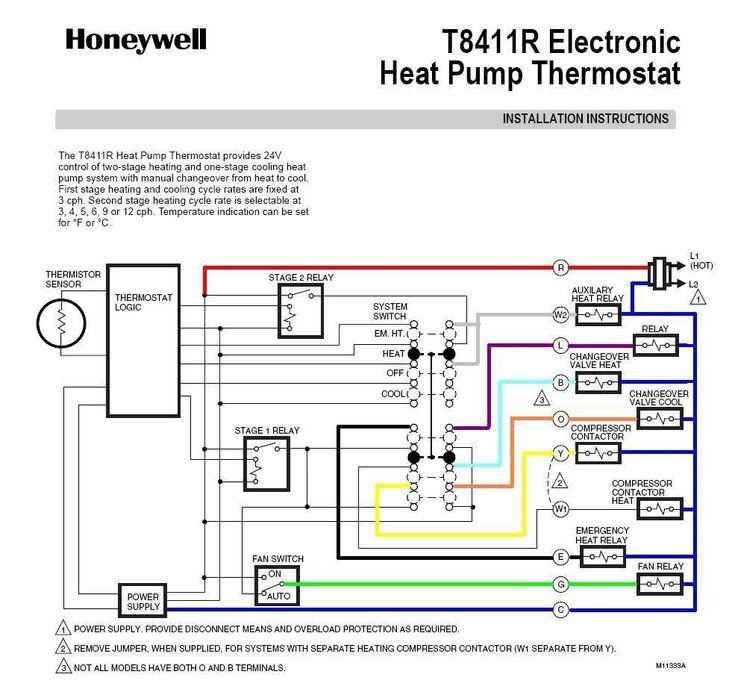 Heat Pump Thermostat Wiring Diagram, Rheem Wiring Diagram