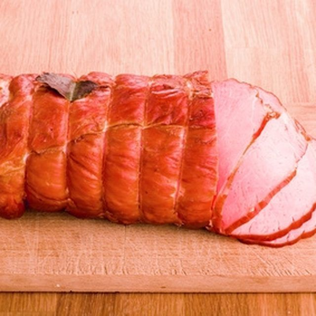 Pressure cooked ham leaves you with a low-fat meal.