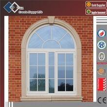 Cor de madeira ROTO hardware janela de batente janela arco