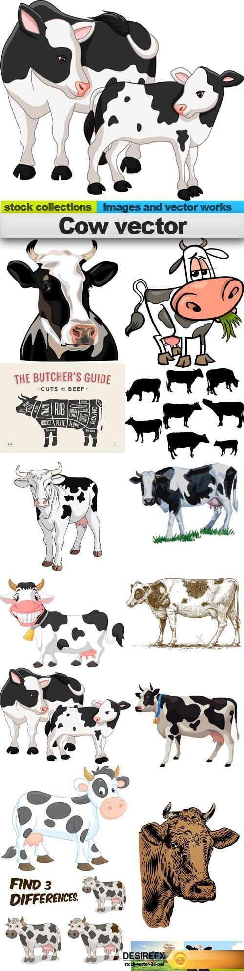 the 25 best cow vector ideas on pinterest cartoon cow cute
