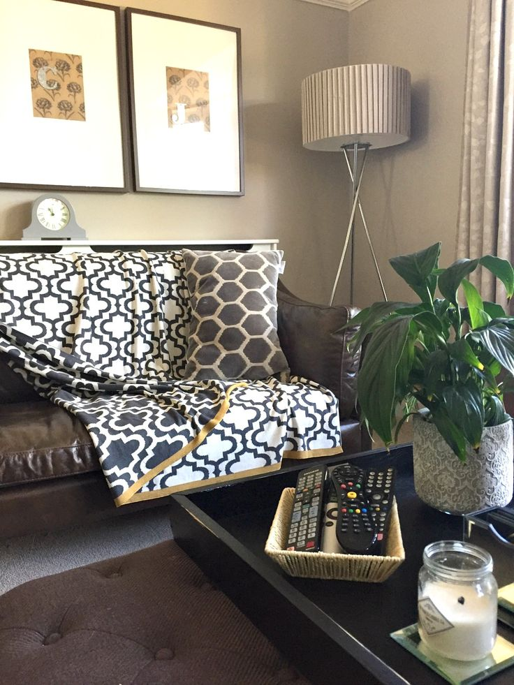 Lounge storage for remote controls - basket storage