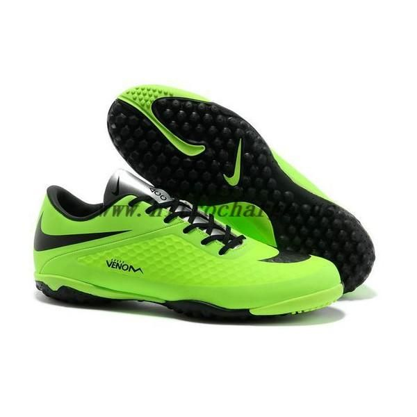 neymar nike hypervenom phelon acc turf shoes green black