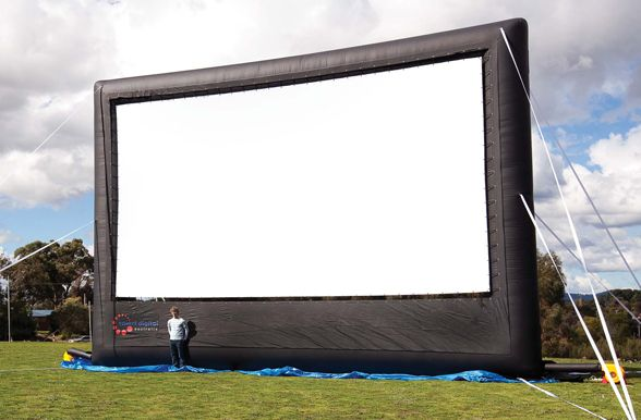 10 metre touring series inflatable outdoor movie screen