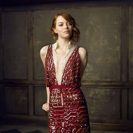 Emma Stone for vanity Fair oscars