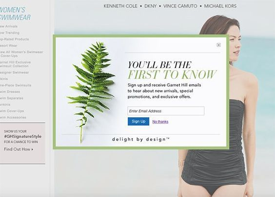 20 Gorgeous Examples of Modal Window Pop Ups: