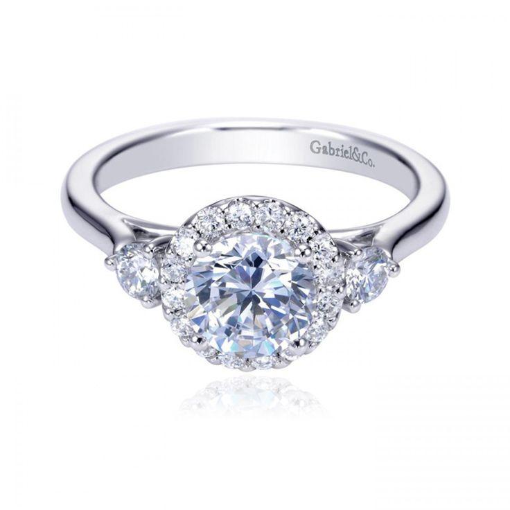 121 best Gabriel & Co. Bridal images on Pinterest | Diamond ...