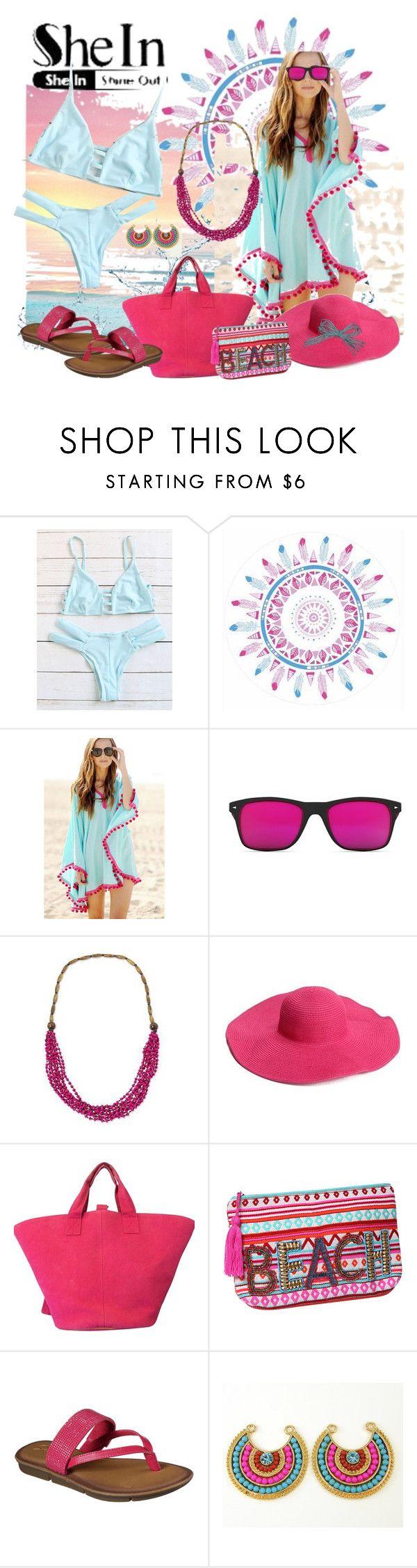 """www.shein.com/Blue-Cutout-Strappy-Sexy-Bikini"" by susan-993 ❤ liked on Polyvore featuring Isharya, GlassesUSA, NOVICA, Hermès, ále by Alessandra and Skechers"